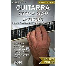 Acordes - Guitarra Paso a Paso - con Videos HD: Tríadas, Cuatríadas, Diatónicos, Power chords . . . (Spanish Edition)