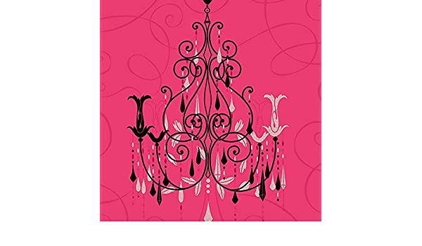 vymura pink chandelier