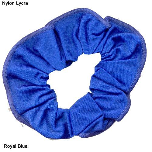 en-nylon-lycra-brillant-cheveux-chouchou-bleu-roi