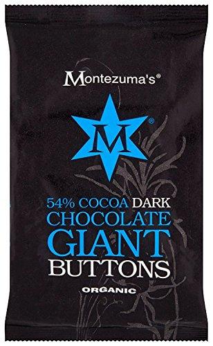 Montezumas Chocolats Org 54% Dark Choc 180g Boutons