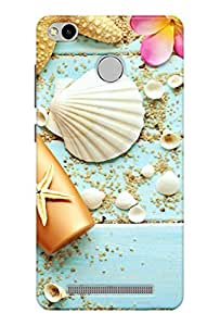 Ally Printed 3D Back cover for Xiaomi Redmi 3S Prime