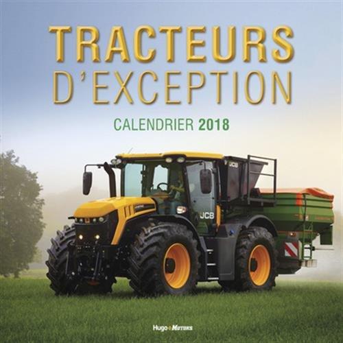 Calendrier mural Tracteurs 2018 par Collectif