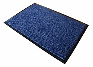"""Doortex Tapis d'entrée """"Advantagemat"""" pour Intérieur, Bleu - 90 x 120 cm"""