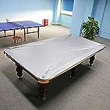 GOTOTOP Telo di Copertura per tavoli per tavoli da Biliardo 8 ft Standard,Copertura Tavoli Biliardo Copertura Impermeabile,260 x 170cm