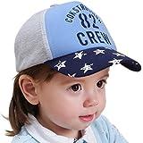 Happy Cherry - Gorra de sol Algodón Estilo Hip hop Estampado para Niños Gorra de Béisbol Infántil de Niña Niño Bebé