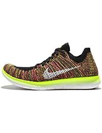 Nike Wmns Free Rn Flyknit Oc, Scarpe da Corsa Bambina