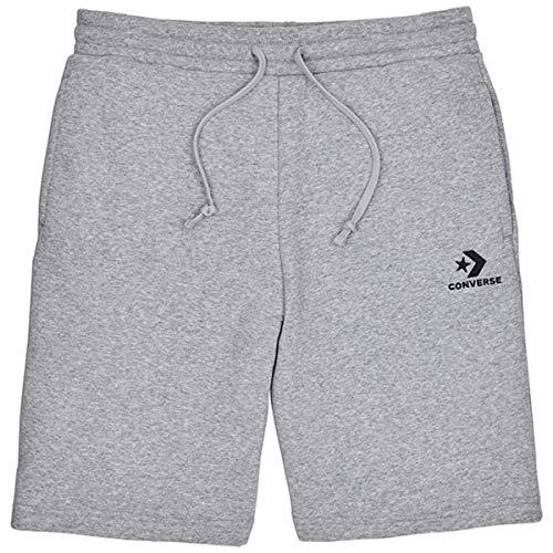 Converse Star Chevron EMB Short Herren Shorts, VGH, grau (Vintage Grey Heather)