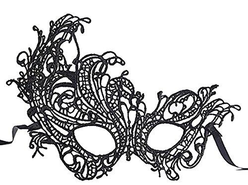 Erwachsene Maske Schwarz Spitze Sexy Schutzbrille Weihnachten Maske,Phönix