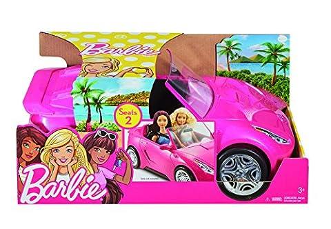 Barbie - DVX59 - Poupée - Cabriolet Rose