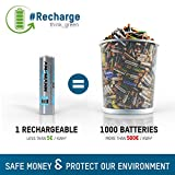 ANSMANN wiederaufladbare Akkubatterie 2er Pack - 3