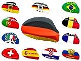 Alsino 2 Stk Autospiegel Flagge für die Außenspiegel Fahne WM Fanartikel EM Fanset Überzug Spiegelfahne Außenspiegelflagge Spiegelflagge