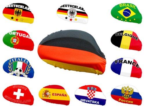 Lot de 2 drapeaux revêtement protége rétroviseur extérieure s'adapte à tous les rétroviseurs grace à la fixation élastique Possibilité de l'utiliser aussi en tant que bandana pour supporters Promotion special Très haute qualité