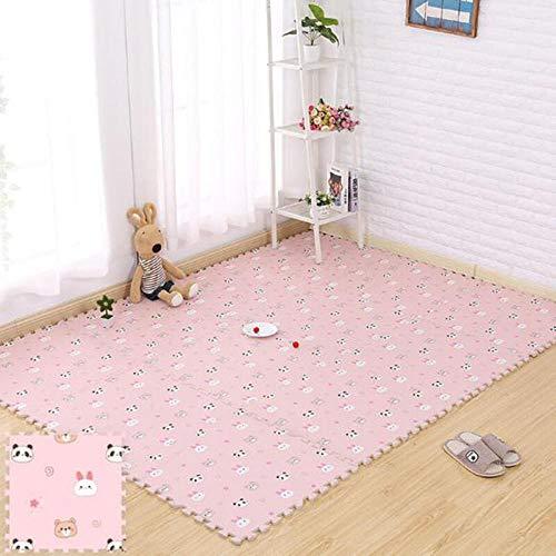 Puzzle Play Mat Las Piezas De Un Rompecabezas Entrelazadas Promueven El Desarrollo Sensorial Visual Soft Baby Floor Mat 12 Tiles Foam Eva