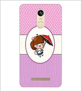 PrintDhaba Cartoon D-4021 Back Case Cover for XIAOMI REDMI NOTE 3 (Multi-Coloured)