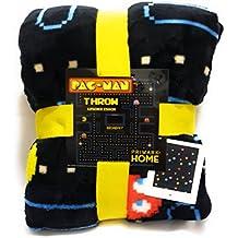 Primark NAMCO ATARI PAC-MAN SUPER SOFTTHROW FLEECE BLANKET 125 CM X 150 CM SOLD