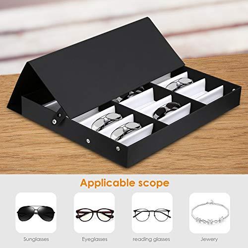 Zoom IMG-1 amzdeal scatola occhiali da 18