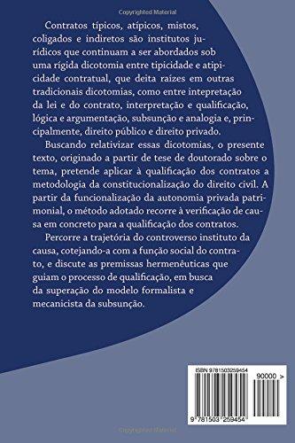 Causa e tipo: A qualificação dos contratos sob a perspectiva civil-constituciona