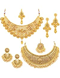 Sukkhi Jewellery Set for Women (Golden)(CB73381)