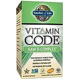 Garden of Life, Code de la vitamine, B-Complexe brut, 60 Capsules Végétales