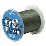 Best linee intrecciate - Skysper 500M 100LB diametro 0.6mm PE Linea di Review