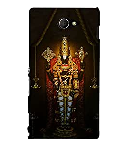 Lord Balaji 3D Hard Polycarbonate Designer Back Case Cover for Sony Xperia M2 Dual D2302 :: Sony Xperia M2
