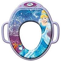 Tomy  Y3390 - Disney Princess weicher Toilettensitz