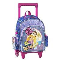 Graffiti Disney Princess School Backpack, 30 cm, Purple