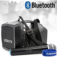 ST-010 Portable Bluetooth PA Wireless Handheld Microphone Amplifier System