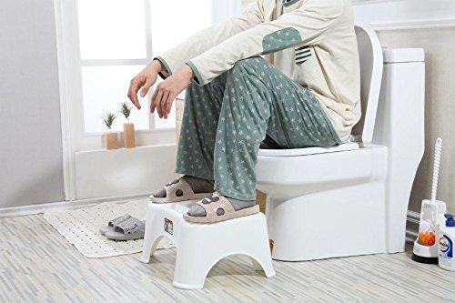 HYP-Ergonomische Toilettenhocker Toilettenhocker ErwachseneKind Hocker rutschfeste Badewanne Kunststoff pad Füße Schemel ältere schwangere Frauen Kinder Stuhl erhöht