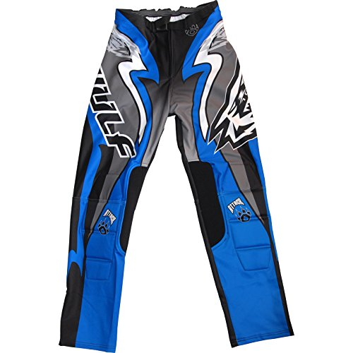 Wulf Attack Adult Trials Pants S Blue