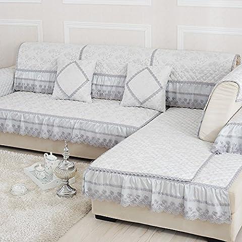 New day-Europeo - stile di quattro - stagione divano in tessuto non stuoia di moda tinta unita - cuscini del divano antiscivolo , b , 110*160cm