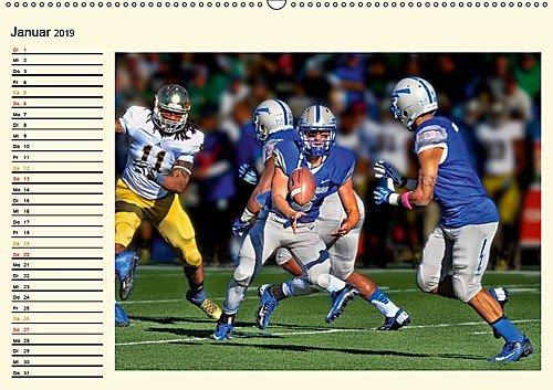 American Football - Taktik und Athletik (Wandkalender 2019 DIN A2 quer): Teamsport der Extra-Klasse (Geburtstagskalender, 14 Seiten ) (CALVENDO Sport)