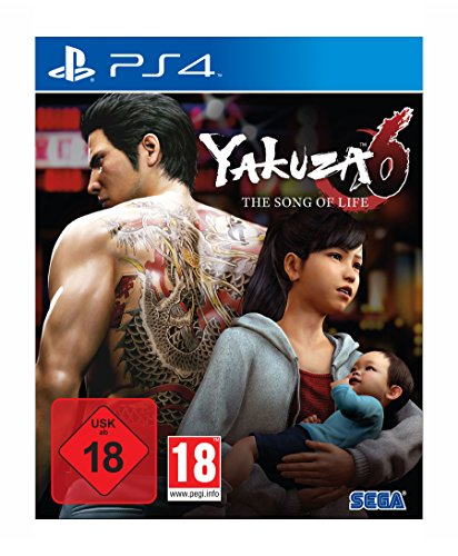 Yakuza 6: The Song of Life - Essence of Art Edition [PlayStation 4 ] [Edizione: Germania]
