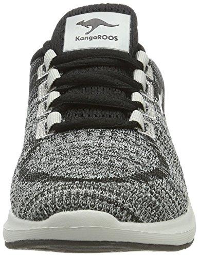KangaROOS - Treca Ii, Pantofole Unisex – Adulto Grau (Lt Grey)