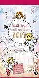 Schutzengel Familienplaner - Kalender 2019 - teNeues-Verlag - Familienkalender - Monatsplaner mit 5 Spalten - 23 cm x 45,5 cm