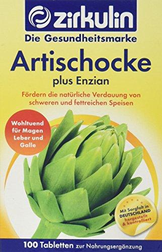 Zirkulin Artischocke plus Enzian | wohltuend für Magen, Leber und Galle