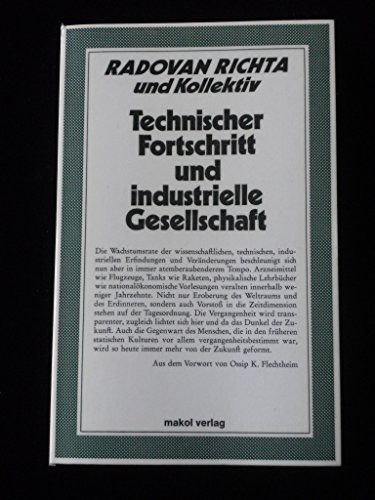 Technischer Fortschritt und industrielle Gesellschaft