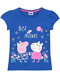 Peppa Pig Girls T-Shirt Ages 1 To 6 Years