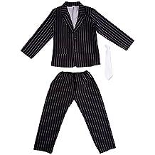 I Love Fancy Dress. ilfd7038X L Niños Disfraces de Gangster (XL)