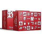 Sport Fitness Adventskalender mit 24 Geschenken - Limited Edition für Männer und Frauen mit Proteinriegeln, Fitnessriegeln UVM.