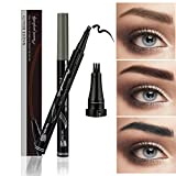 Allbesta 1 X Make-up Microblading Augenbrauenstift Tattoo Wasserdicht 3d Fine Sketch Eyebrow Tint Stamp