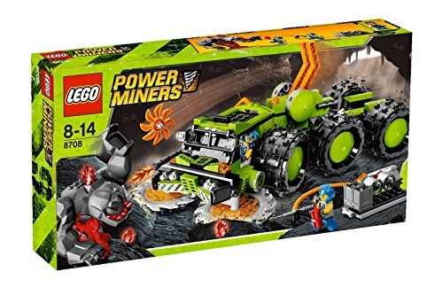 LEGO Power Miners 8708 - Gesteinsfräser (Lego Power Miner Sets)