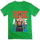 Sixtion Men's John Cena Rise Above Hate T Shirts DeepHeather