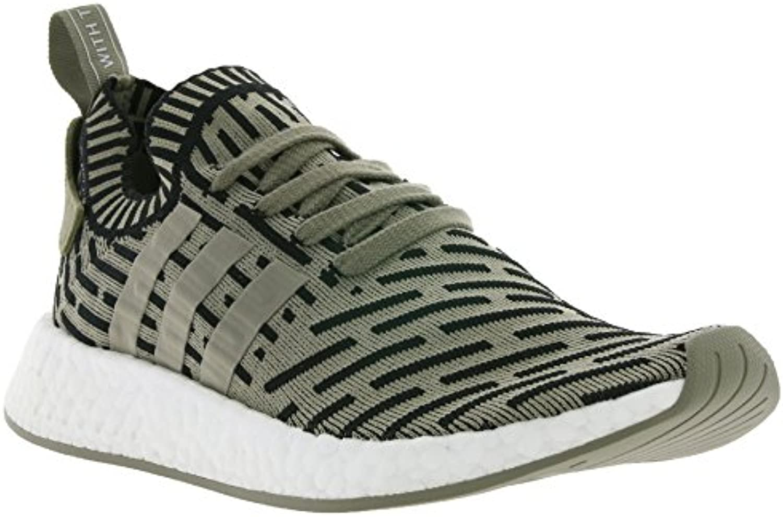 adidas Originals NMD_R2 Primeknit Schuhe Sneaker Turnschuhe Grün BA7198  Größenauswahl:40 2/3