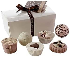 Bomb Cosmetics Chocolate Ballotin Assortment Bath Gift Set