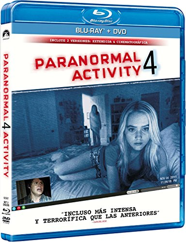 Paranormal Activity 4 (BD + DVD) [Blu-ray] 51gMQfZon0L