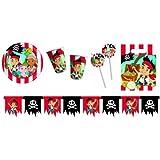 Procos 412249 - Kinderpartyset Jack Pirates, L