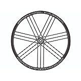 CMP Campagnolo Shamal Ultra Disc 2Way Shim 12-12 Räder, Schwarz, Einheitsgröße