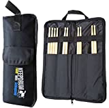 KEEPDRUM SB-01 Drumstick-Tasche Nylon Stickbag Schwarz