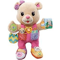 VTech Baby - Oso Lola, peluche interactivo, color rosa (3480-194522)